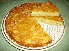 Gâteau économique fait avec du pain rassis