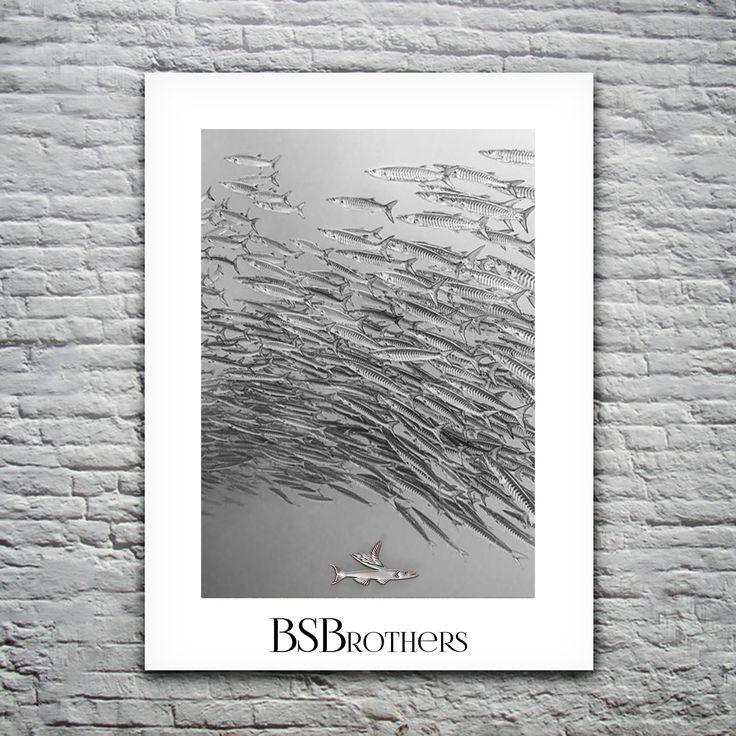 Barracuda | Portraits #bsbrothers #barracuda #logotype #branding #identity bsbrothers.tumblr.com