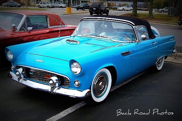 '55 Ford Thunderbird by Back Road Wanderer, via Flickr: Thunderbird Convertible, Roads Wandering, T Birds, Back Roads, Automobile, 55 Ford, Ford Thunderbird, Dreams Cars, Antique Rides