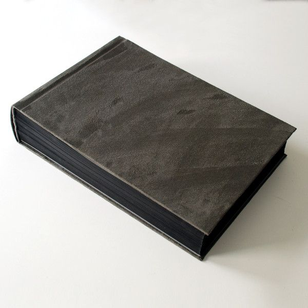 Albums – Large photoalbum 25x35cm 150 pages, suede cover – a unique product by Kajet on DaWanda