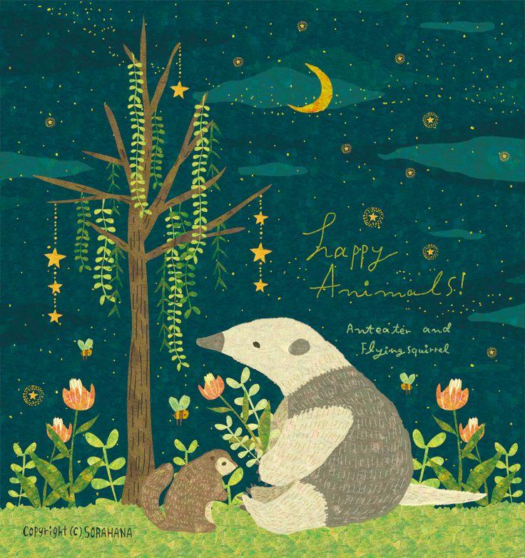 東急ハンズ渋谷店1Aフロアイベントスペースで行われるイベント、「ニッチアニマルズ」の方にも参加させて頂く事になりました。 3月10日(木)~3月23日(水)14日間の出展です。 こちらはアリクイやモモンガなどのマイナー動物達の絵のグッズを販売予定です。 よろしくお願い致します。 By Megumi Inoue. http://sorahana.ciao.jp/