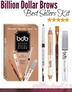 Billion Dollar Brows – Best Sellers Kit
