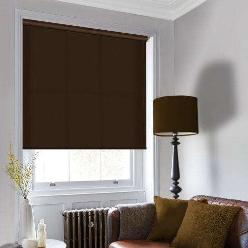 Sale Chocolate Roller Blind