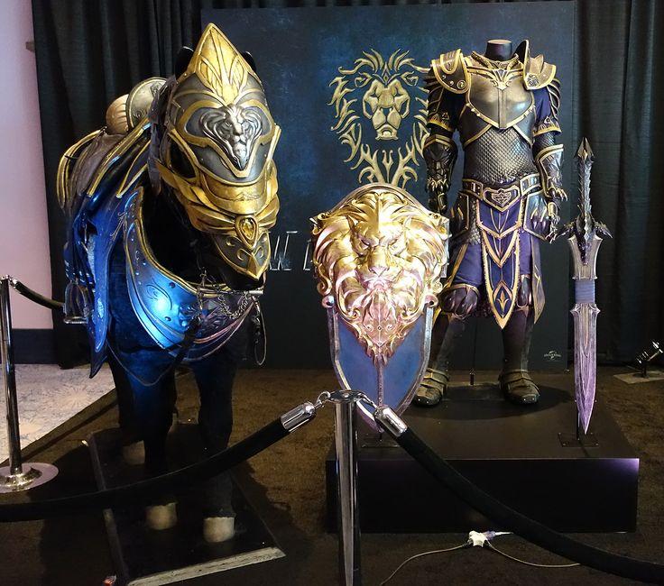 Alliance Armor for Warcraft Movie