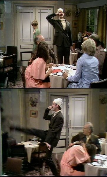 Don't mention the war in The Germans. Fawlty Towers