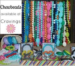 Chewbeads  Available in a variety of styles and colours  Stylish jewellery for moms at cravings maternity & baby boutique with matching junior sets for big sisters at Cravings Kids lifestyle boutique!