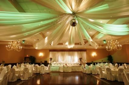 Reception Hall Decoration Ideas | Planning a Wedding Reception