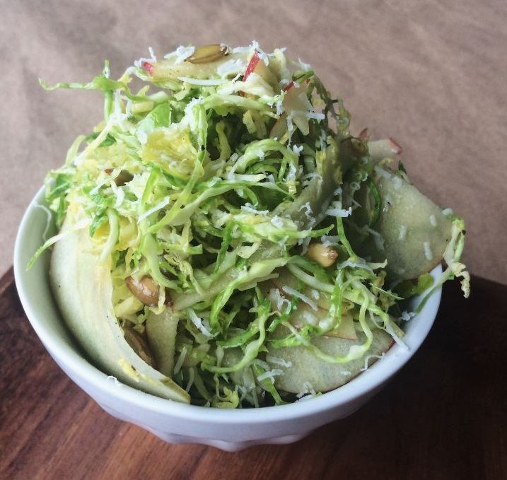 Zupan's Market : Simple Brussels Sprouts Salad