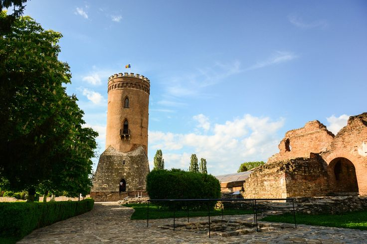 """""""Turnul Chindiei"""" (Chindia's Tower), a fiffteenth century tower built in the former capital of Wallachia."""