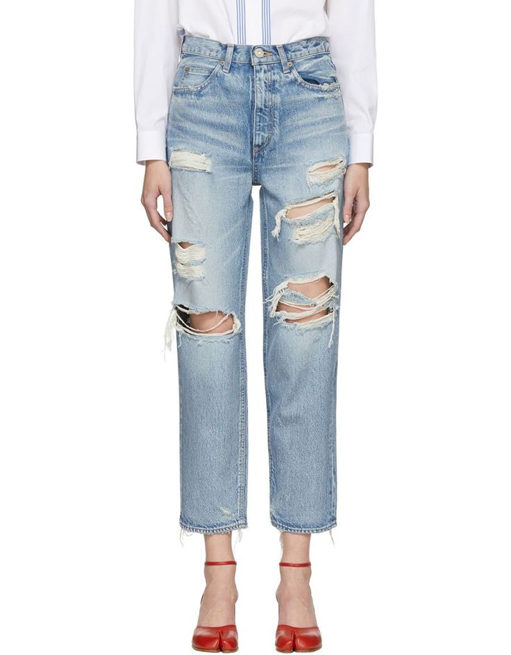MOUSSY Blue Baron JW Tapered Jeans · VERGLE