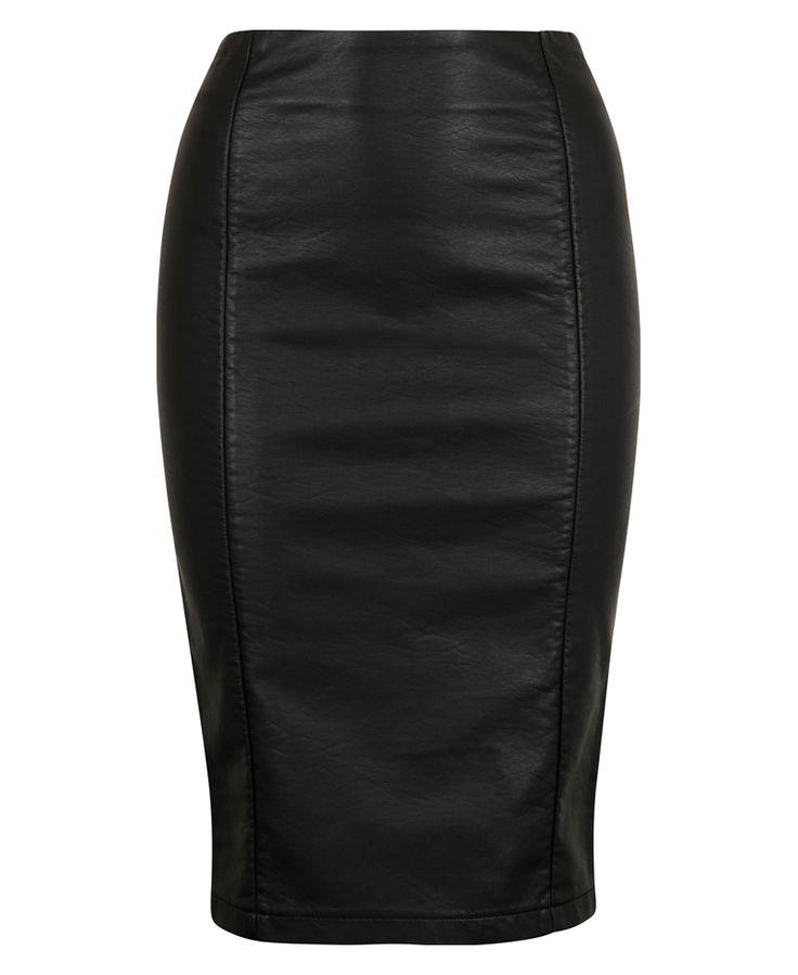 Samanta faux leather skirt 399,- 39,95€, week 40