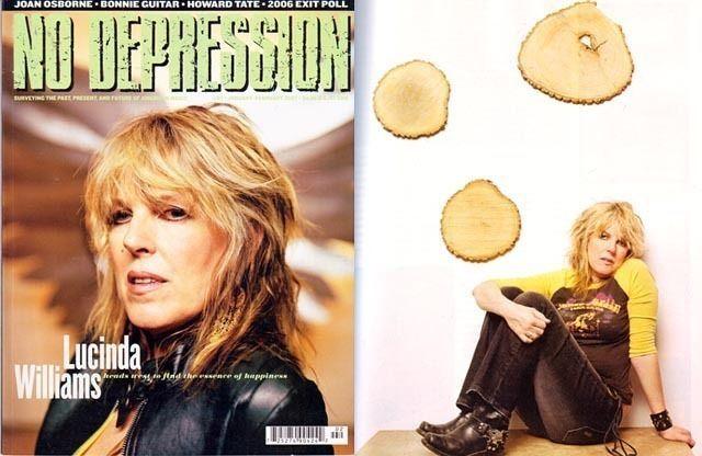 LUCINDA WILLIAMS 8 pgs! 2007 No Depression Magazine 67 JOAN OSBORNE Howard Tate