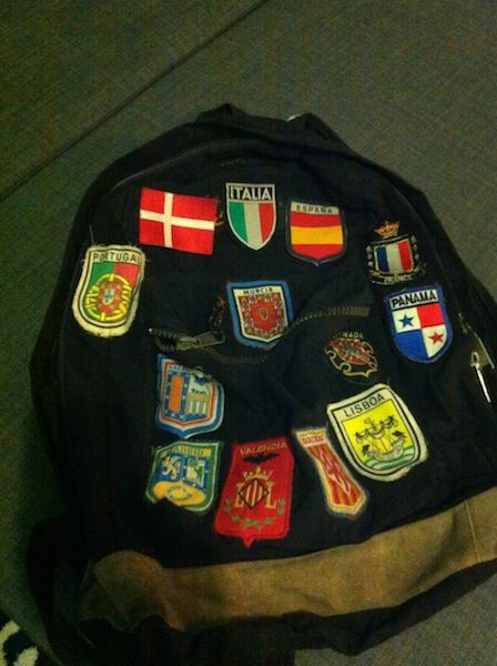 """#ttmproject """"One of the most important things I care about is the backpack I used when I was at the college."""" #backpack, #college, #Erasmus, #sewyourlife, #studentlife, #travels"""