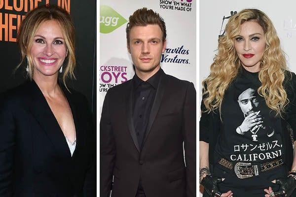 Julia Roberts, Nick Carter e Madonna são alguns famosos que tiveram problemas com seus familiares próximos