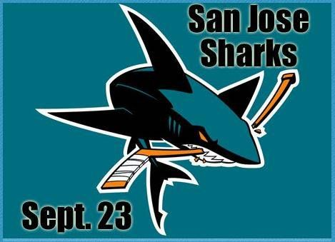 San Jose Sharks are coming to Stockton Arena!