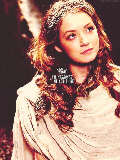"Princess Aurora ""I'm stronger than you think"" #OUAT"