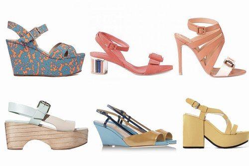 Tacchi bassi o alti? Tutti i sandali dell'estate 2014