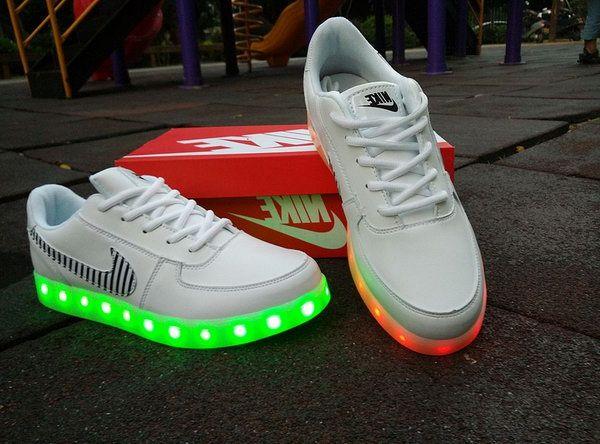 50-70% de descuento online para la venta grande descuento venta Mens Nike Air Force One Light Up Shoes White 36-45 Sweden | Nike ...