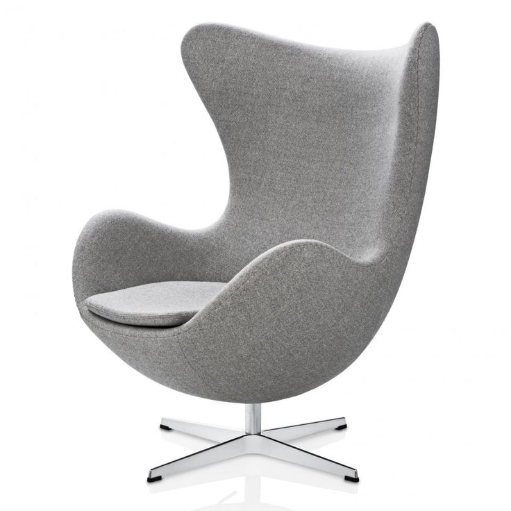 In Gray Wool Chair