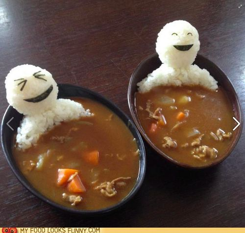 funny food photos - Curry Luls
