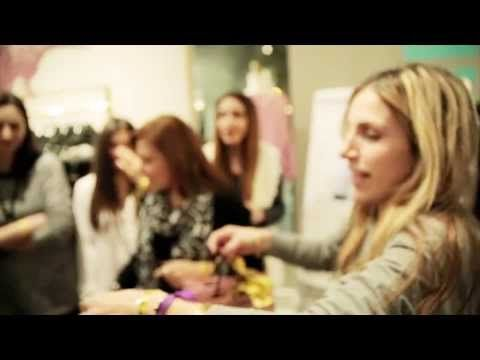 Juicy Couture in store style seminar_The movie #watch #share #like