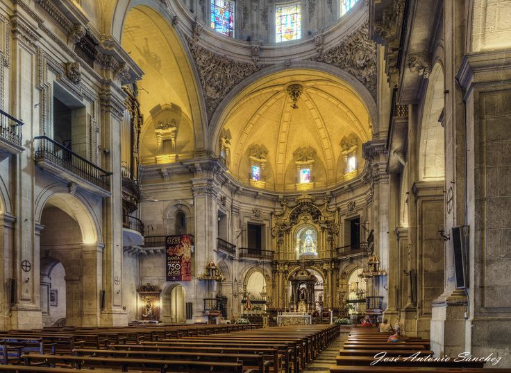 Interior Basilica Sta Maria by José Antonio Sánchez on 500px