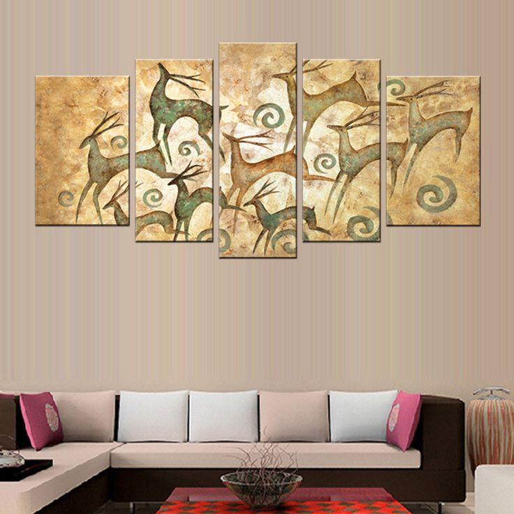 Abstract elk print