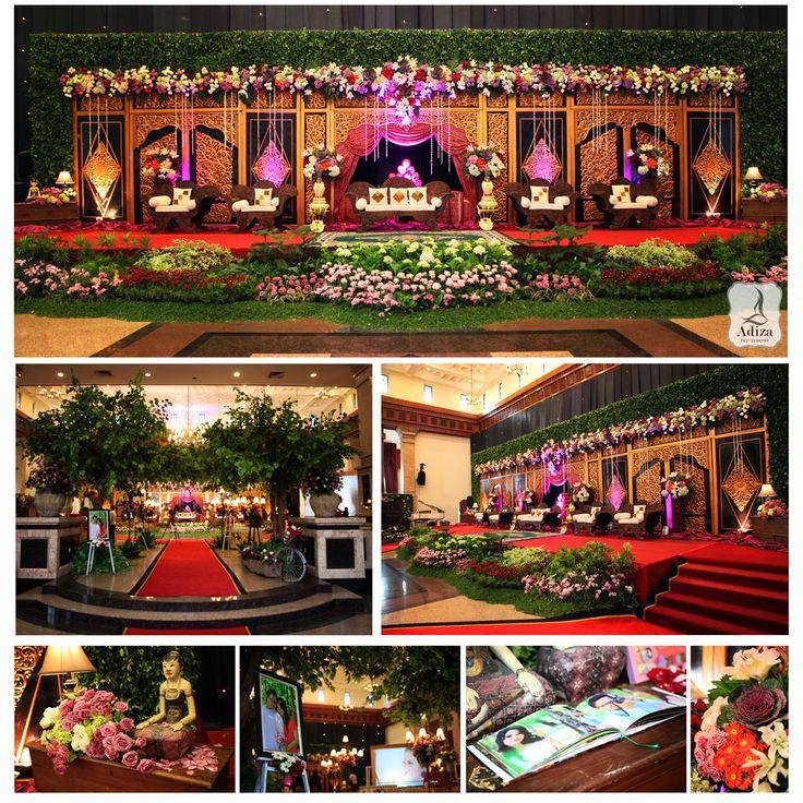 Javanese Wedding Decoration Venue : Balai Sudirman