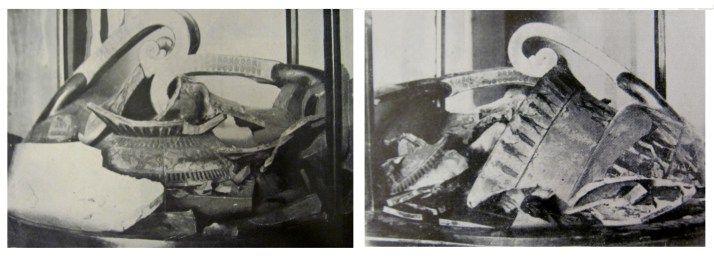 9 settembre 1900: un custode del museo manda in frantumi il Vaso #François. #maf #Firenze