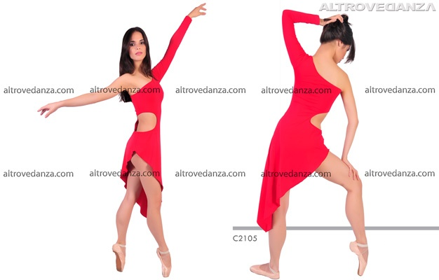 Vestito Danza Moderna Jazz (C2105)