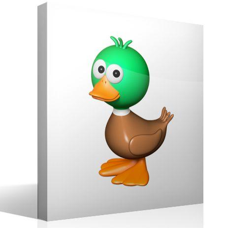 Vinilo infantil Pato