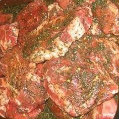 The Best Marinade in Existence.....Ingredients 1/3 cup soy sauce 1/2 cup olive oil 1/3 cup fresh lemon juice 1/4 cup Worcestershire sauce 1 1/2 tablespoons garlic powder 3 tablespoons dried basil 1 teaspoon ground pepper: Used this with pork chops and it was awesome. Makes a ton - Probably enough for 8-10 chops. - craft-trade.co