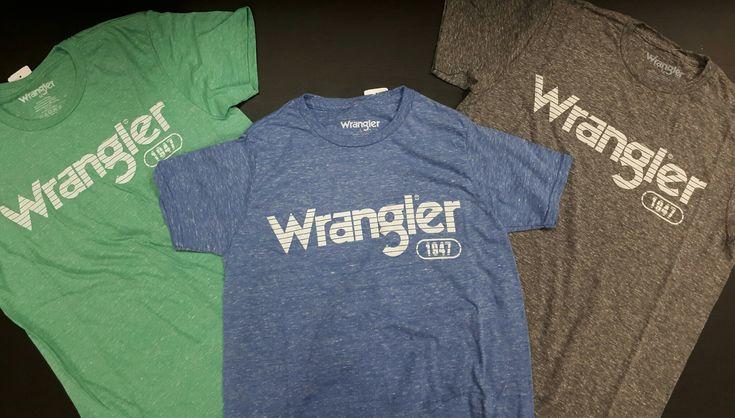 Faites le plein de couleur avec ces tee-shirts Wrangler !