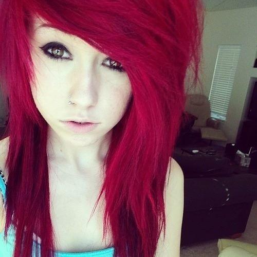 1000 ideas about red scene hair on pinterest scene hair scene girls and hair - Colors for girls ...