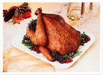 Traditional Stuffed Turkey @DinnerByDesign