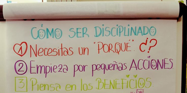 10 consejos para ser más disciplinado|Patricia Ramírez