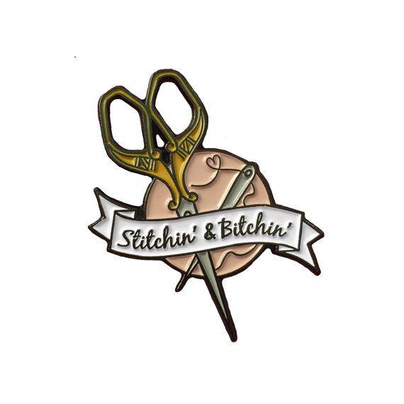 PREORDER FLASH SALE Stitchin' and Btchin' by kwtallantdesigns