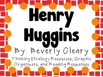 Everything you need for a novel study on Henry Huggins by Beverly Cleary! You can copy as an entire packet or you can copy pages individually! This can be for a small book club, or for the whole class! Inside you will find:About the Author Research ActivityStory Summary: Characters/Plot/Setting: Graphic OrganizerCharacter Traits of Specific Characters: Graphic OrganizerComparing Two Characters: Graphic OrganizerComparing Henry and Scooter Venn DiagramCharacter Change Throughout Story…