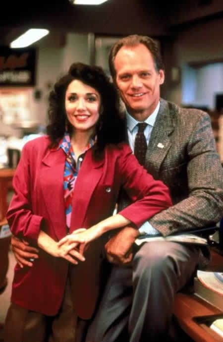 Stepfanie Kramer & Fred Dryer, stars of the NBC 1984-1991 series, HUNTER.