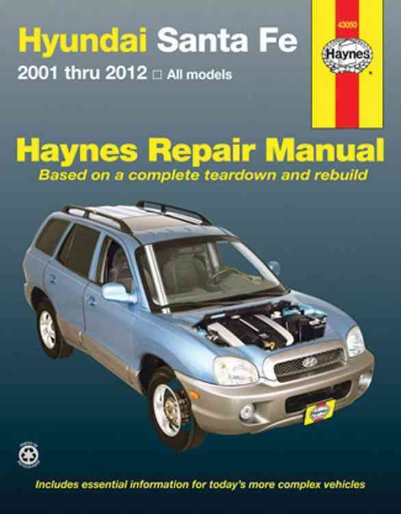 30 best hyundai service manual images on pinterest repair manuals hyundai sante fe haynes repair manual covering all models from with a haynes manual you can do it yourself from simple maintenance to basic repairs solutioingenieria Image collections