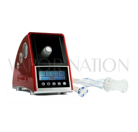 """http://www.vapornation.com/easy-vape-5-vaporizer.html  Easy Vape 5 Vaporizer: Digital LCD Display, 5-Button Control, Ceramic Heating Element, Quick Heat-Up Time, Hands Free Connection, Available in a Variety of Colors.  Easy Vape 5 Accessories (Included): 1x 18mm Hands Free Glass Wand, 1x 30"""" Surgical Grade Tubing, 1x Glass Mouthpiece, 1x Stainless Steel Screen. #vaporizer"""