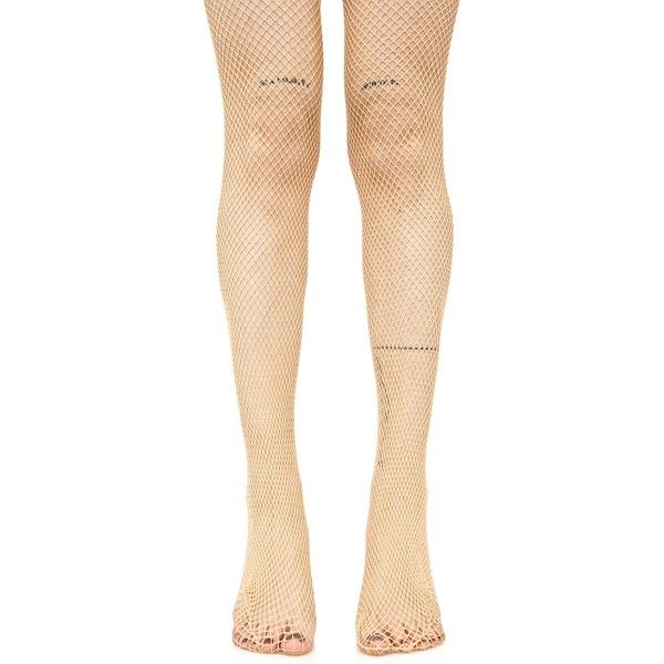 Nude Fishnet Tights ($8) ❤ liked on Polyvore featuring intimates, hosiery, tights, fishnet pantyhose, leg avenue, leg avenue hosiery, fishnet stockings and leg avenue stockings