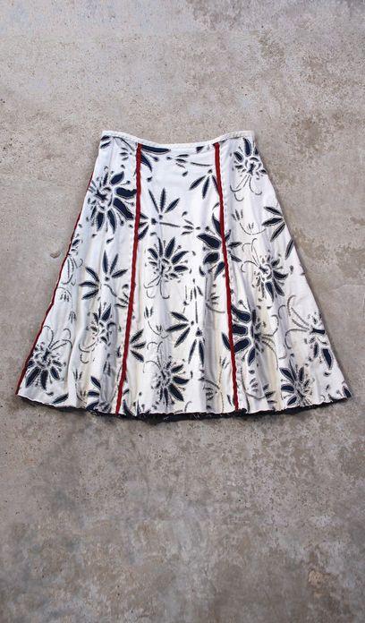 Alabama Chanin - DIY Angie's Fall Gore Skirt
