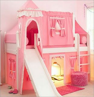 cute little girls bed i know a little girl who would LOVE this!