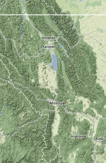 Best Majestic Missoula MT Area Images On Pinterest - Missoula mt us map