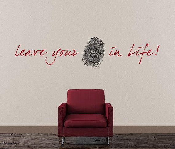 Block (fingerprint quote) | allthingslearning |Leave Your Fingerprint Quotes