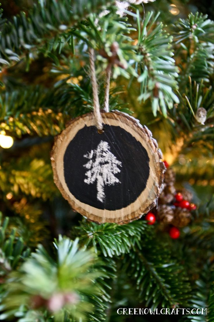 Wood And Chalkboard Paint Ornaments  Versatile