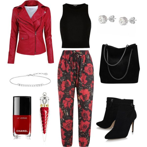 A fashion look from February 2017 featuring River Island tops, Anna Sui pants and Gucci handbags. Browse and shop related looks.