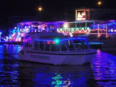 Mandurah Cruise's Christmas Lights Cruise