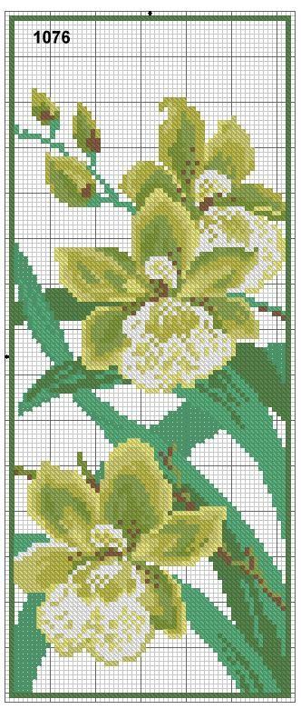Gėlės :: Schemos siuvinėjimui kryželiu :: Rankdarbių kraitelė | Gyvenimo būdo žurnalas